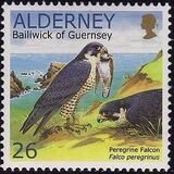 Alderney 2000 WWF Peregrine Falcon b