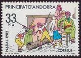 Andorra-Spanish 1982 Christmas b