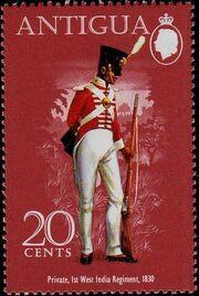 Antigua 1974 Military Uniforms c