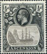 Ascension 1924 Seal of the Colony ab