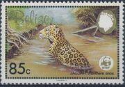Belize 1983 WWF - Jaguar c