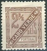 Cape Verde 1893-1895 Carlos I of Portugal a