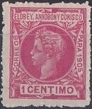Elobey, Annobon and Corisco 1905 King Alfonso XIII a