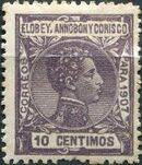 Elobey, Annobon and Corisco 1907 King Alfonso XIII f
