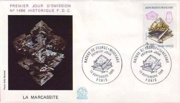 France 1986 Minerals FDC1