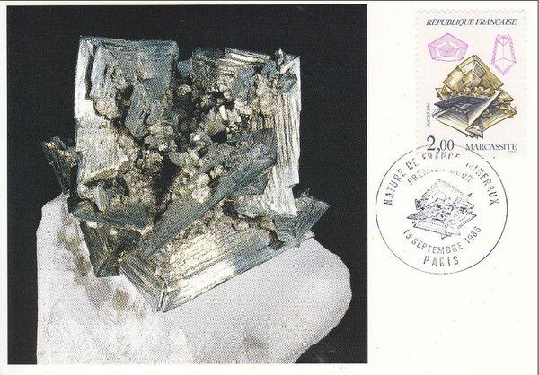 France 1986 Minerals MCa