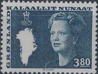 Greenland 1985 Queen Margrethe II b