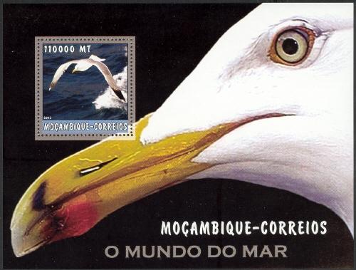 Mozambique 2002 The World of the Sea - Sea Birds 1 i