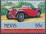 Nevis 1984 Leaders of the World - Auto 100 (1st Group) t
