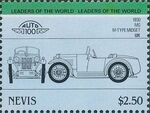 Nevis 1985 Leaders of the World - Auto 100 (3rd Group) u