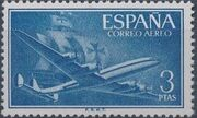 Spain 1956 Plane and Caravel (2nd Group) d