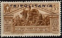 Tripolitania 1930 2000th Anniversary of the Birth of Roman Poet Vergil i