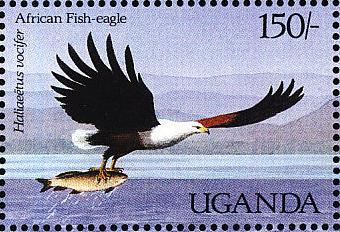 Uganda 1987 Birds of Uganda k