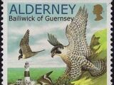 Alderney 2000 WWF Peregrine Falcon