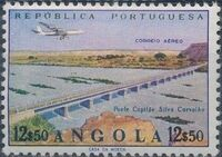 Angola 1965 Various Works and Airplane j