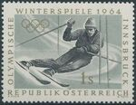 Austria 1963 Winter Olympic Games - Innsbruck a