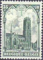 Belgium 1928 Anti Tuberculosis - Cathedrals d