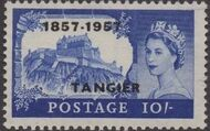 British Offices in Tangier 1957 Centenary Overprint (1857-1957) t