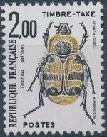 France 1982 Insects - Postage Due Stamps (1st Issue) e