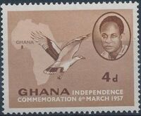 Ghana 1957 Independence c