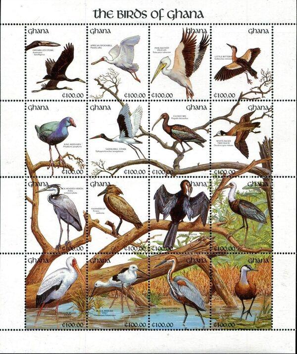 Ghana 1991 The Birds of Ghana w2