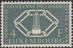 Luxembourg 1956 4th Anniversary of the Establishment in Luxembourg of the Headquarters of the European Coal and Steel Community c