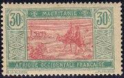 Mauritania 1913 Pictorials i