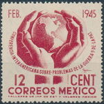 Mexico 1945 Inter-American Conference (Regular Mail) a
