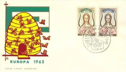 Monaco 1963 Europa h