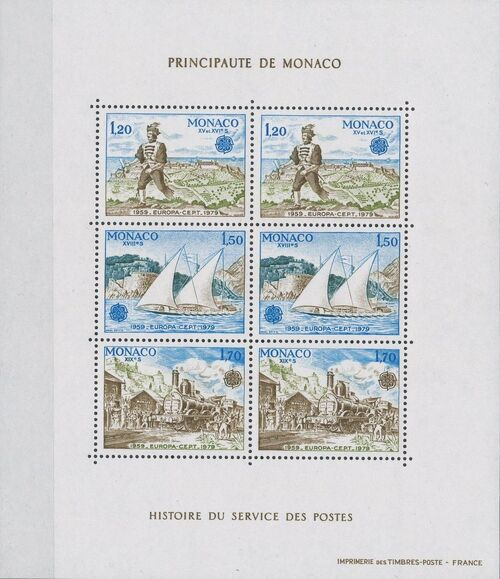 Monaco 1979 EUROPA - Communications d