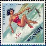 Mozambique 1962 Sports a