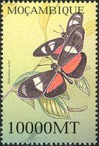 Mozambique 2002 Butterflies j