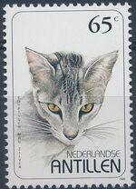 Netherlands Antilles 1995 Domestic Cats c