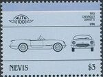 Nevis 1986 Leaders of the World - Auto 100 (5nd Group) q