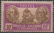 New Caledonia 1928 Definitives w
