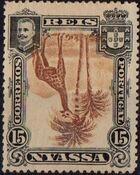 Nyassa Company 1901 D. Carlos I (Giraffe and Camels) q