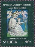 St Lucia 1970 Christmas d