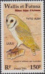 Wallis and Futuna 2001 55th Autumn Salon Birds c