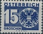 Austria 1935 Coat of Arms and Digit g