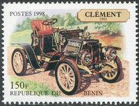 Benin 1998 Vintage Cars b