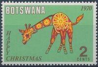 Botswana 1970 Christmas b