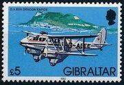 Gibraltar 1982 Airplanes o