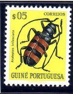 Guinea, Portuguese 1953 Guinea Insects a