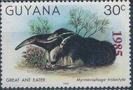 Guyana 1985 Wildlife (Overprinted 1985) i