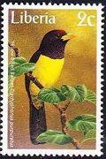 Liberia 1997 Birds b