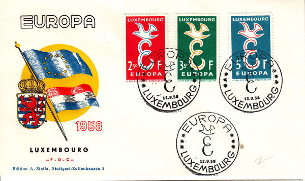Luxembourg 1958 Europa l