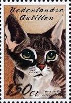 Netherlands Antilles 2003 Cats k