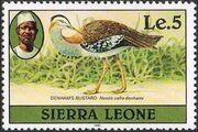 Sierra Leone 1982 Birds from 1980 Imprint 1982 n