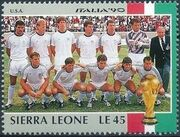 Sierra Leone 1990 Football World Cup in Italy s