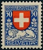 Switzerland 1926 PRO JUVENTUTE - Coat of Arms d